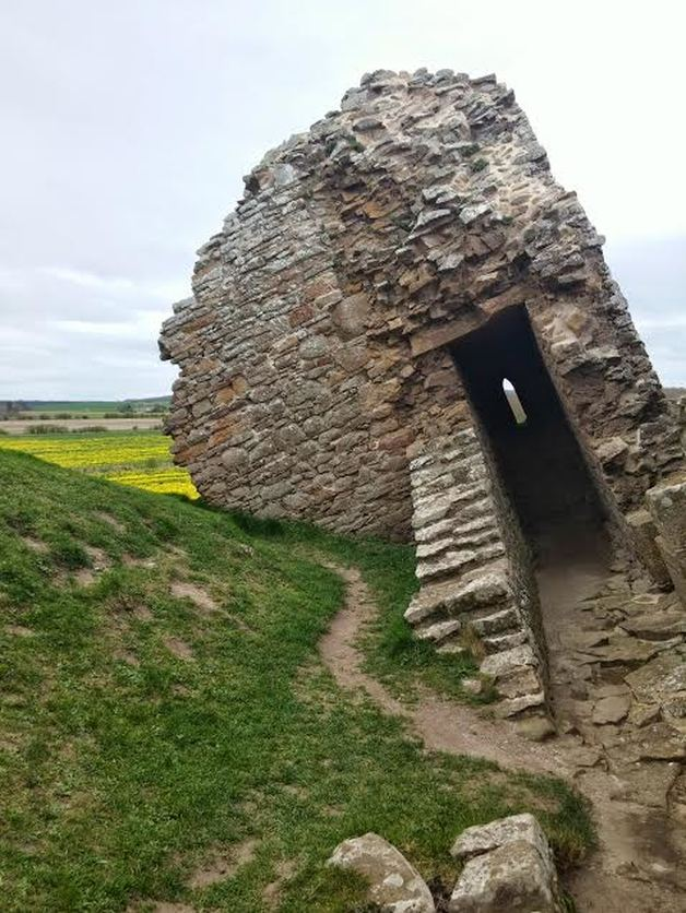 Duffus Castle Scotland
