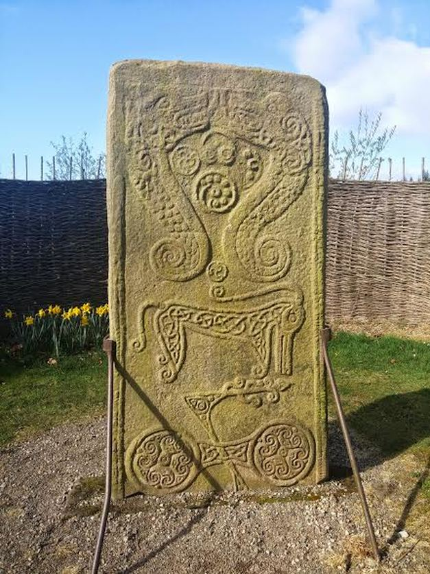 Rodney Pictish Stone Scotland