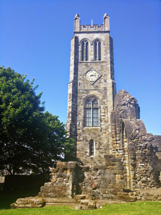 History of Kilwinning Abbey, Ayrshire, Scotland ...