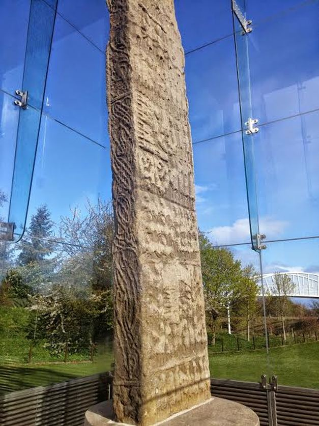 Sueno's Pictish Stone Scotland