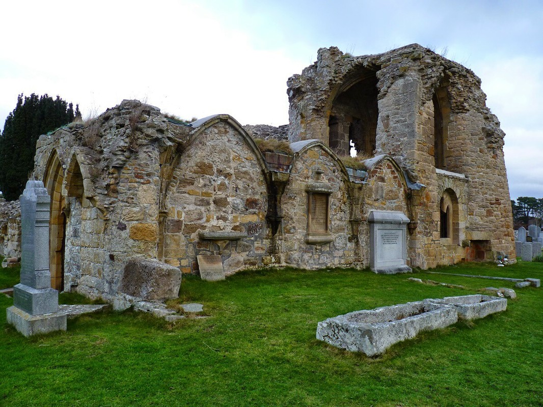 Kinloss Abbey Moray Scotland